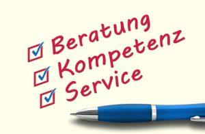 Beratung, Kompetenz und Service Es stimmt alles!